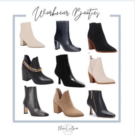 Workwear booties are now on sale through the Nordstrom Anniversary Sale!  #LTKworkwear #LTKshoecrush #LTKsalealert