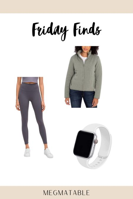 Friday finds for this week include 2 #amazonfinds & a jacket from Costco 😍 loving these!! // http://liketk.it/36Bu0 #liketkit @liketoknow.it #LTKunder50 #LTKsalealert #LTKfit