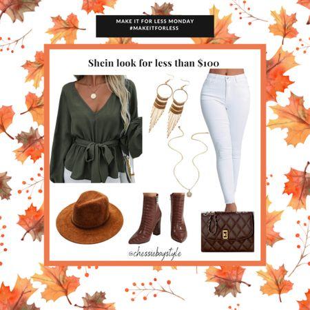 Make it for less Monday! Shein look for less than $100   #LTKsalealert #LTKstyletip #LTKSeasonal