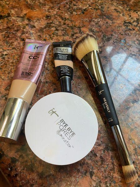 Ditched my makeup sponge and I'm sold on this brush for putting on my foundation abs concealer!   #LTKunder50 #LTKunder100 #LTKbeauty