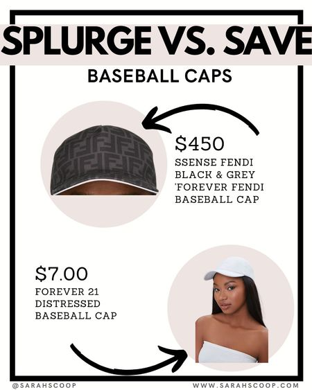 Either for a Father's Day Gift or just for style, these baseball caps are a must. #LTKsplurgevssave   #LTKmens #LTKstyletip