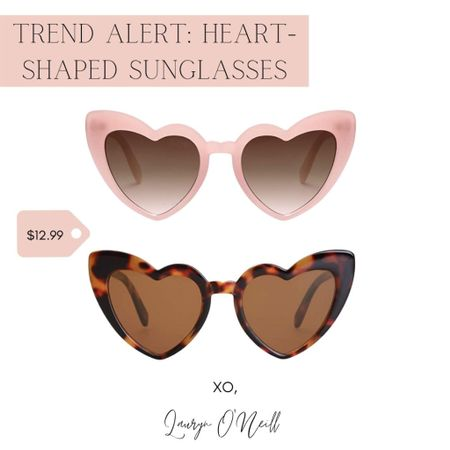 Valentine' Day won't be the same without these heart shaped sunglasses. I couldn't decide which to get, so I got both!    #LTKbeauty #LTKstyletip #LTKcurves