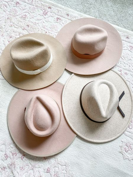 It's safe to say I love a good felt hat in the fall!