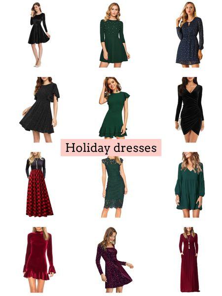 Holiday dresses   #LTKunder50 #LTKHoliday #LTKSeasonal
