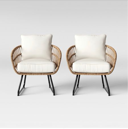 Patio chairs set       Patio chairs , patio furniture , target style , target finds   #LTKSeasonal #LTKhome #LTKstyletip