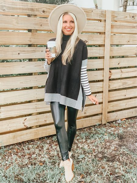 Happy #nationalcoffeeday ☕️ What's your favorite coffee drink? I LOVE the holiday lattes from Starbucks! PSL and peppermint mocha! Yum! 🎃🍫  Outfit details are linked!   #LTKunder100 #LTKSeasonal #LTKunder50