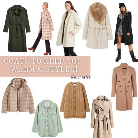 How super cute are these warm (yet trendy) affordable coats!   #LTKstyletip #LTKSeasonal #LTKunder100