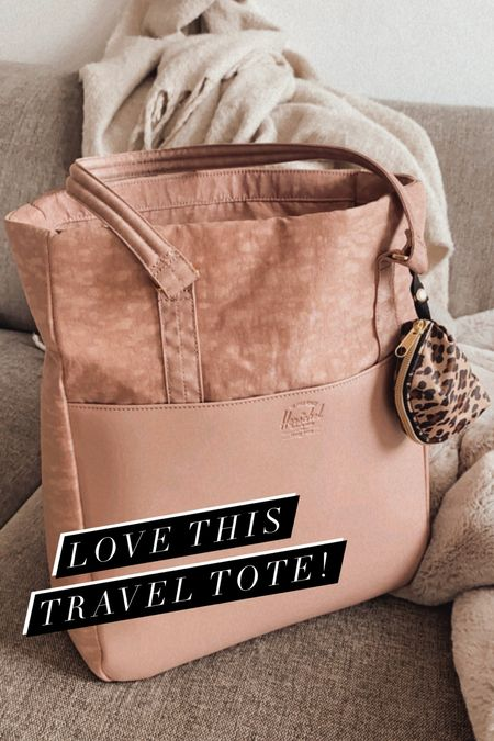 amazing tote I used for travel and loved how much it fit! 💗  #LTKtravel #LTKGiftGuide