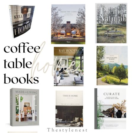 Coffee table books for the Fall #home #homedecor #bookworm #styling #homestyle #decorating   #LTKSeasonal #LTKunder100 #LTKhome