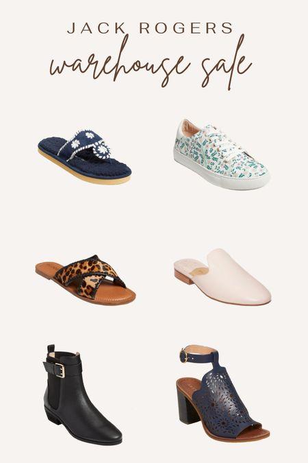 Jack Rogers warehouse sale. Shoe sale. Slippers. Sneakers. Floral sneakers. Leopard sandals. Mules. Black boots. Navy wedges.   #LTKshoecrush #LTKunder50 #LTKsalealert
