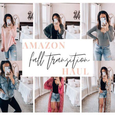 Amazon Haul  Fall transition items!  http://liketk.it/2EgU6 #liketkit @liketoknow.it #LTKstyletip #LTKunder50 #LTKunder100