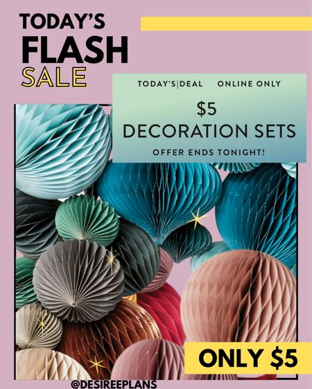 Fall Decoration / Holiday. decoration Flash Sale!  Today only $5 differ sizes and colors @erincondren    #LTKhome #LTKSeasonal #LTKsalealert
