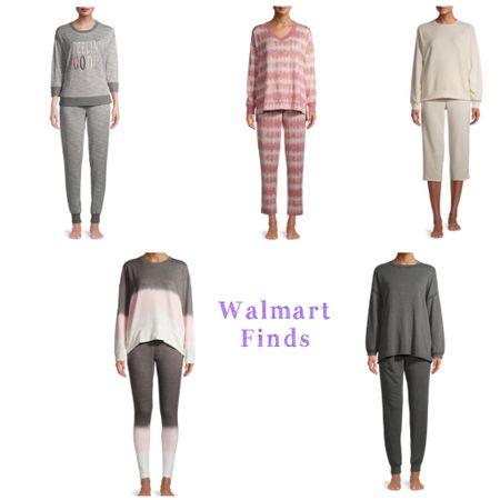 Loungewear. Matching sets. Sweats. Sweatpants. Comfy outfit ideas. Walmart fashion finds. Under 25.   #LTKstyletip #LTKunder50 #LTKfit
