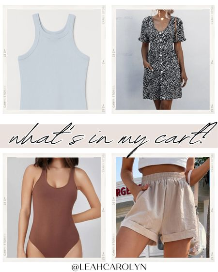 This week's what's in my cart: prepping for summer with picks from H&M and Shein  #LTKsalealert #LTKSeasonal #LTKunder50