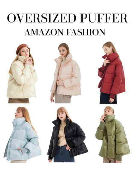 Loving these waterproof puffer coats for under $70. Amazon fashion finds   #LTKunder100 #LTKstyletip #LTKHoliday