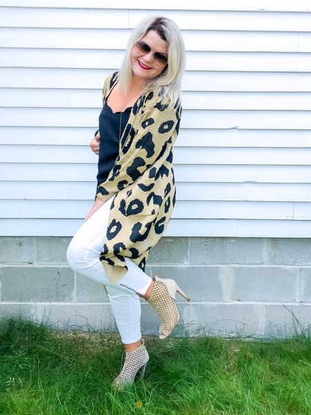 Happy autumn! Sharing some staples for fall!  This cardigan is on trend because it is soooo good! Leopard print is a nuetral in my book!  #LTKSeasonal #LTKcurves #LTKstyletip