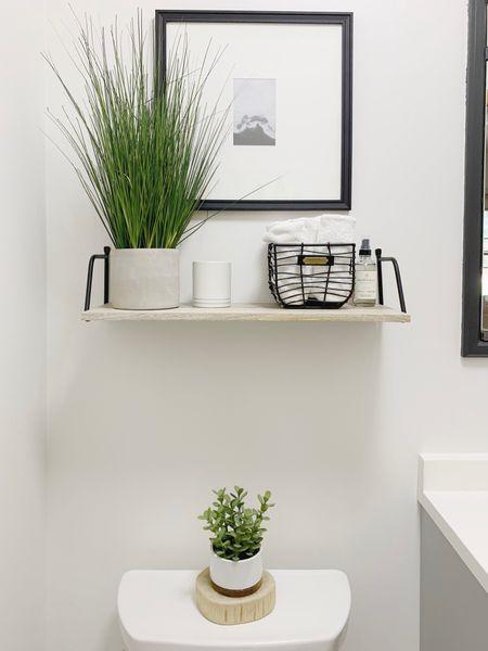 Simple bathroom decor http://liketk.it/3ifyn #liketkit @liketoknow.it #LTKhome #LTKunder50 #LTKstyletip @liketoknow.it.home
