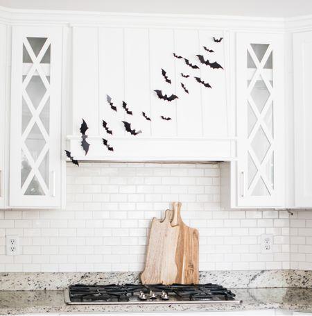 Halloween decor, home decor, sticky bats, cutting board  #LTKunder50 #LTKhome #LTKSeasonal