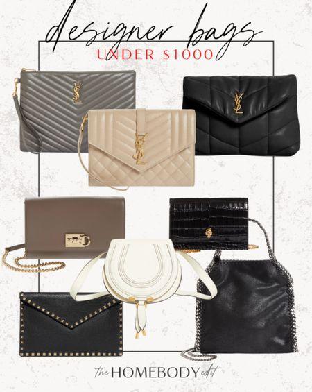 Designer bags under 1k!  #LTKstyletip #LTKGiftGuide #LTKitbag
