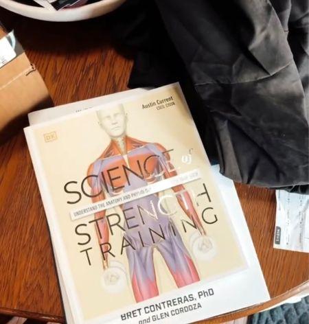 Educational books for strength training  #LTKbacktoschool #LTKfit #LTKunder50