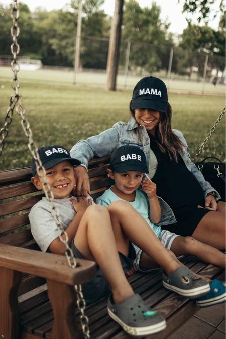 Mama and Babe baseball cap!   #LTKkids #LTKbaby #LTKfamily