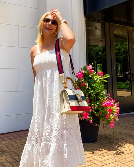 Love a good #eyeletdress for summer. Shop my favs here from all price points 👉 http://liketk.it/3iyXK or Shop your screenshot of this pic with the LIKEtoKNOW.it shopping app #liketkit @liketoknow.it #LTKunder50 #LTKtravel #LTKcurves #amazonfinds #weddingguestdress #weddingguest #summerwedding #beachoutfits #beachstyle #summervacationstyle #4thofjulyoutfit #july4thoutfit