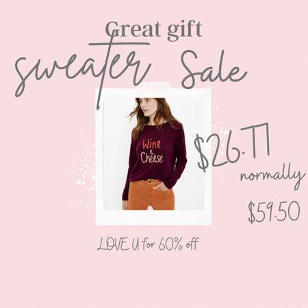Sweater weather  SALE $29.75 . Great gift!   #LTKGiftGuide #LTKSeasonal #LTKsalealert