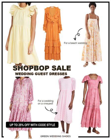 Perfect dresses to wear to a spring or summer wedding from the Shopbop sale.   http://liketk.it/3cXKD @liketoknow.it #liketkit #LTKwedding #LTKsalealert