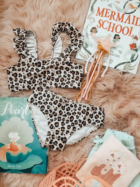 Summer outfit. Swim Suits. Summer Books. Summer Baskets for Kids. Birthday Gift idea for the little girl in your life 🦩 xo lovelies     #LTKswim #LTKbaby #LTKkids