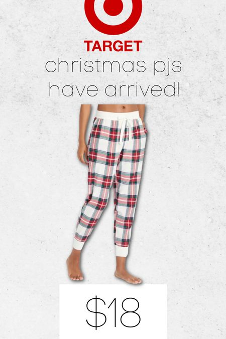 Christmas pjs have officially arrived at Target 🙌🏼 under $20 🎄   #LTKunder50 #LTKHoliday #LTKSeasonal