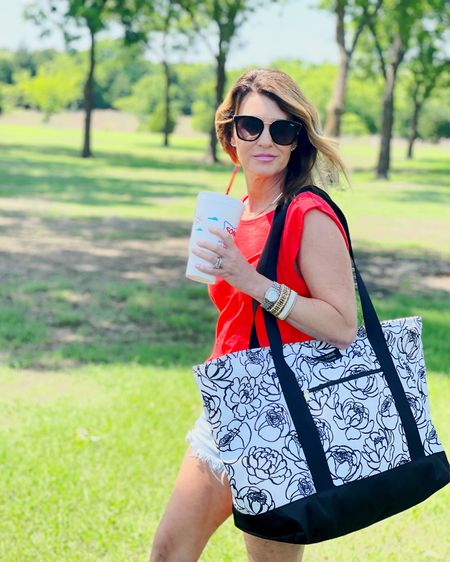 XL beach totes are here + Fanny packs! Woo hoo! Use code SPOILEDHOME10 and save 10% on our limited edition co-branded @loganandlenora bags http://liketk.it/3i7lH @liketoknow.it #liketkit #LTKsalealert #LTKitbag #LTKstyletip