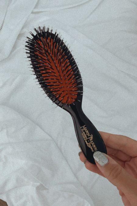 Mason Pearson pocket brush! I love this brush and it's perfect for travel   #LTKtravel #LTKbeauty