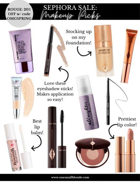 Sephora sale makeup picks! Use code OMGSPRING   #LTKunder100 #LTKsalealert #LTKbeauty