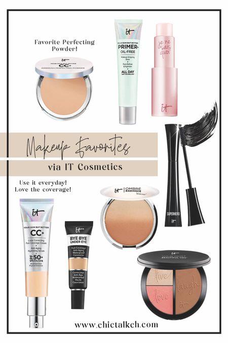 My absolute favorite makeup products via IT Cosmetics! Use these everyday!   #LTKbeauty #LTKSale #LTKsalealert