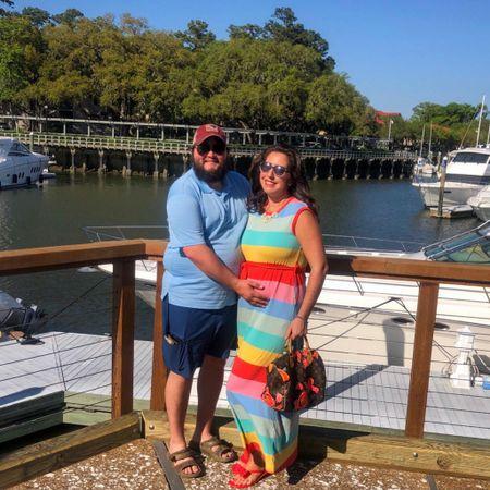 Mom & dad style #LTKbump #LTKmens #LTKunder50 http://liketk.it/3df1P #liketkit @liketoknow.it #vacationoutfits #beachvacation #maternity