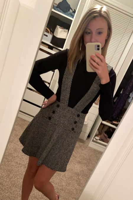 How adorable is this outfit for thanksgiving?! I'm obsessed! Super affordable too!   #LTKunder50 #LTKworkwear #LTKstyletip