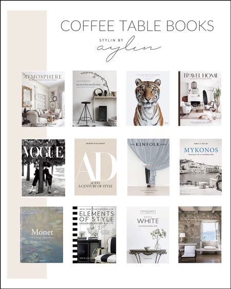 Coffee table books, coffee table accessories, amazon books, StylinAylinHome   #LTKstyletip #LTKunder100 #LTKhome