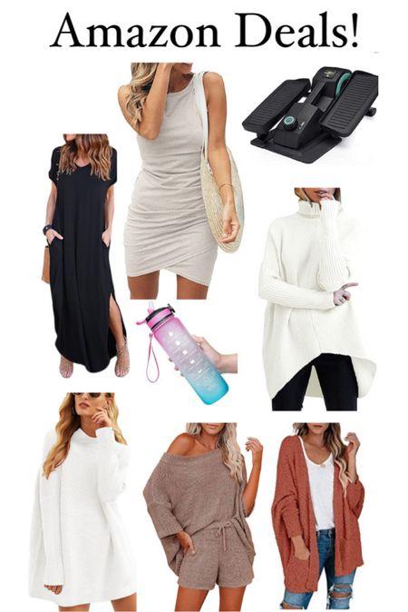 Today's best amazon deals! Amazon finds, cardigan, fall sweater, oversized sweater, fall outfits, maxi dress, bodycon dress, wfh, elliptical desk   #LTKsalealert #LTKunder50 #LTKunder100