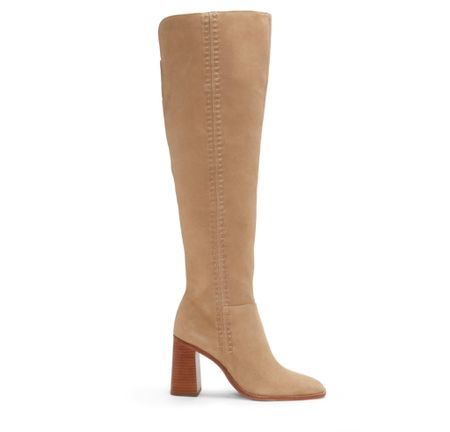 Vince Camuto Englea Square-Toe Boot. Western boots, ankle boots and mid-calf boots    #LTKSeasonal #LTKstyletip #LTKshoecrush