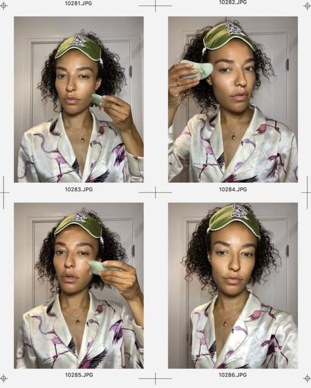 My Evening Gua Sha Routine 🥰 #selfcare #GuaSha #Skincare  #LTKbeauty #StayHomeWithLTK