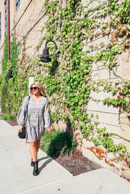 Even if it's still hot out, I'm rocking the fall dresses now! Like almost everything else is my closet, this dress is super comfortable and easy to wear! #falldress #amazonfind   #LTKSeasonal #LTKunder50 #LTKSale
