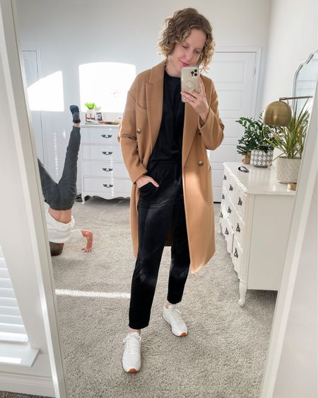 My black velour sweatshirt and sweatpants are 40% off! RUN!!! This is by far the best purchase I've made in 2020. Extremely comfy, but cute enough to dress up and wear out of the house 🙌. Wearing a small in top and bottoms. http://liketk.it/31I83 #liketkit @liketoknow.it #loungewear #LTKsalealert #LTKtravel #loft