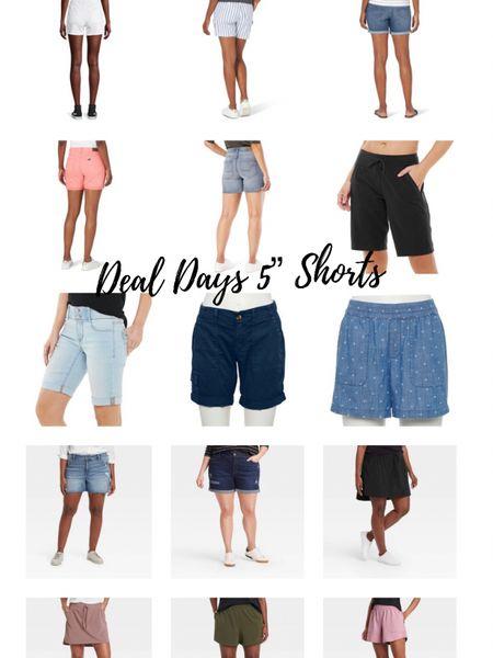 """http://liketk.it/3i1Yl #liketkit @liketoknow.it #LTKsalealert #LTKstyletip #LTKunder50 follower request for 5"""" shorts! Women's shorts, long shorts, burmuda shorts; 5"""" inseam"""