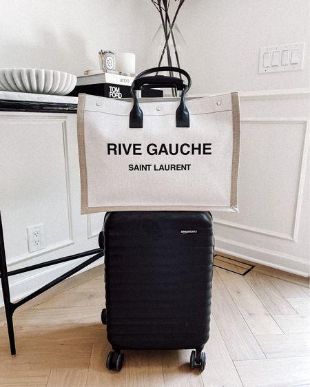 Loving this tote for travel and carryon luggage from #amazon #travel #amazonfinds #saintlaurent #designerbag  #LTKtravel #LTKunder100 #LTKitbag