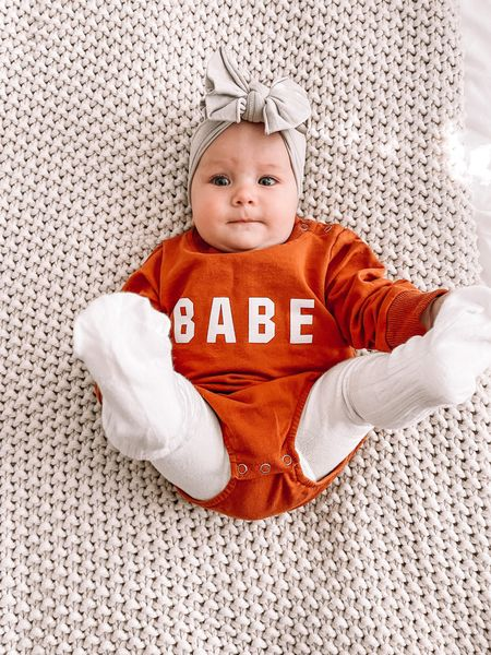 Baby girl clothes, amazon fashion Fall outfits, baby outfits Amazon finds, baby bows, baby tights   #LTKfamily #LTKunder50 #LTKbaby