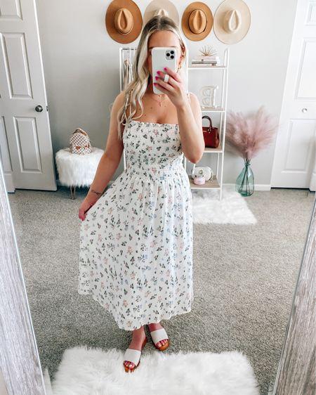 Code: BRITTANYH40 to save  . . .  http://liketk.it/3hOtM #liketkit @liketoknow.it #LTKstyletip #LTKunder50 #LTKunder100 white dress, dress, summer dress, midi dress dress, maxi dress, floral dress, white dress style, summer fashion