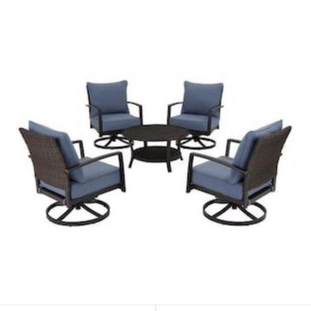 Outdoor deck / patio conversation set http://liketk.it/3eXYo #liketkit @liketoknow.it #LTKhome