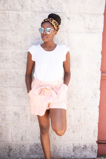 It's finally warming up! Get into this ruffle short sleeve shirt and high-rise tie waist shorts. Complete the look with leopard print sandals & headband with the perfect sunglasses!    @liketoknow.it #liketkit http://liketk.it/39uv7