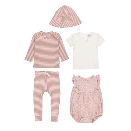 Get the 5 piece baby clothing set, in pink or blue. #frenchstyle #LTKbaby #LTKbump #LTKfamily @liketoknow.it.family http://liketk.it/39V5t #liketkit @liketoknow.it