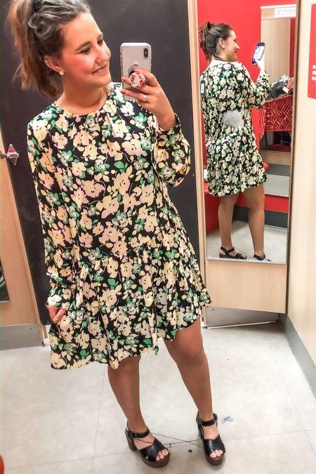 Spring 🌸 dress 🌸 floral http://liketk.it/2KZxG  #liketkit @liketoknow.it #LTKunder50 #LTKspring #LTKworkwear